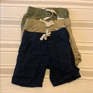 3 pairs of boy shorts size 3t